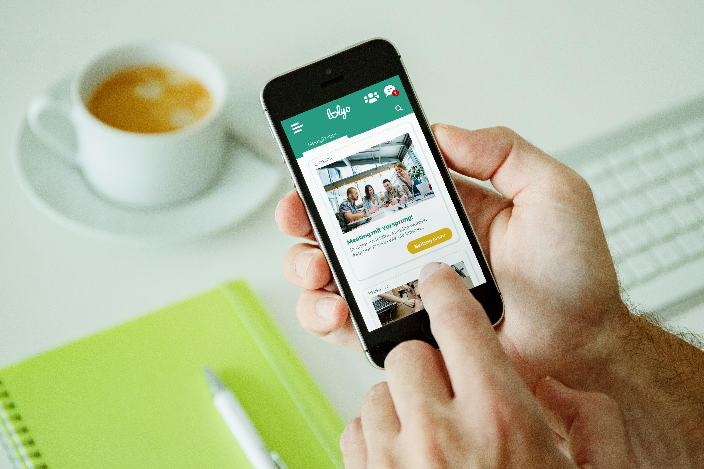 LOLYO Mitarbeiter-App Mitarbeiterbindung