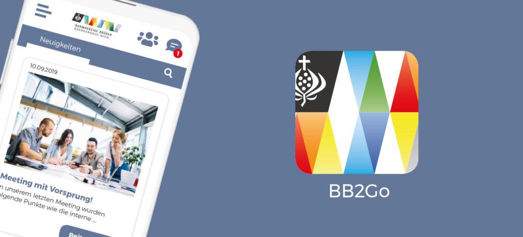 LOLYO Mitarbeiter-App BB2Go für das Krankenhaus der Barmherzigen Brüder Wien