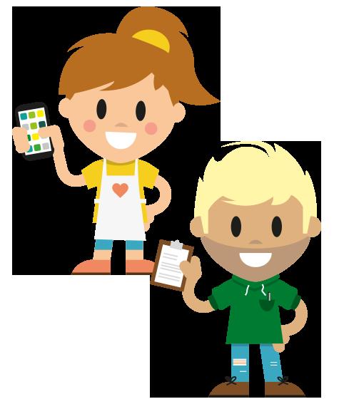Mitarbeiter-App für den Handel