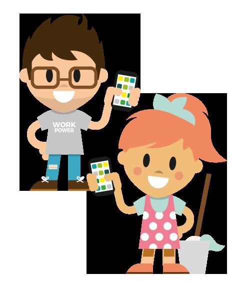 LOLYO Mitarbeiter-App für Reinigungsbetriebe & Personaldienstleister