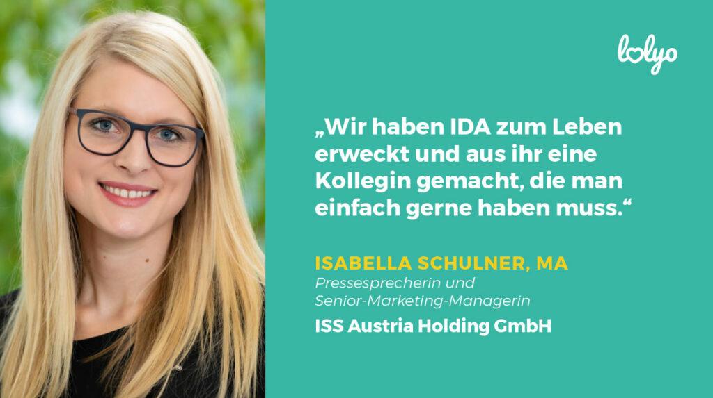 Isabella Schulner, Pressesprecherin der ISS Austria Holding